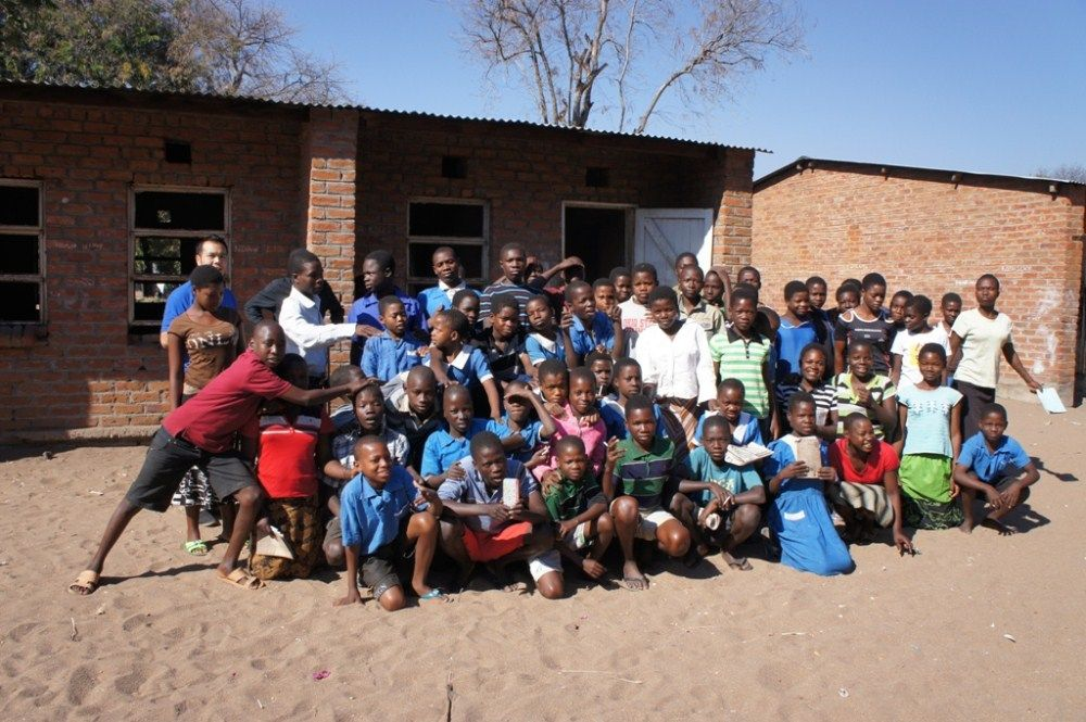 Children in the school