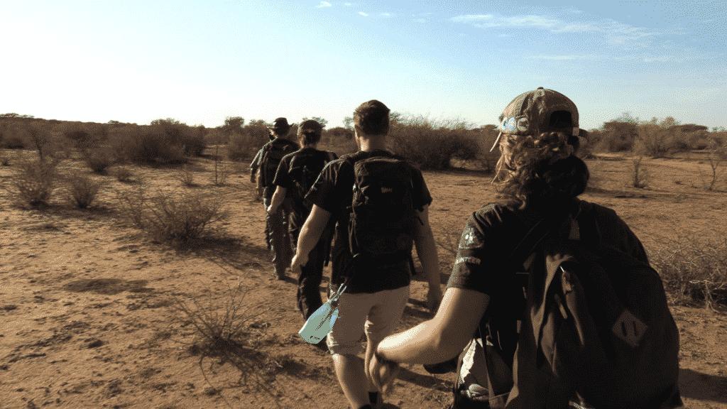 Rhino Bush walk