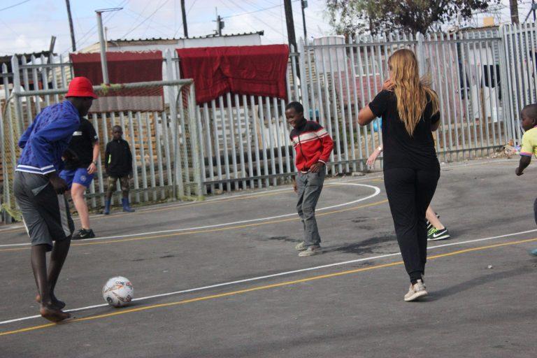 Teaching soccer 4