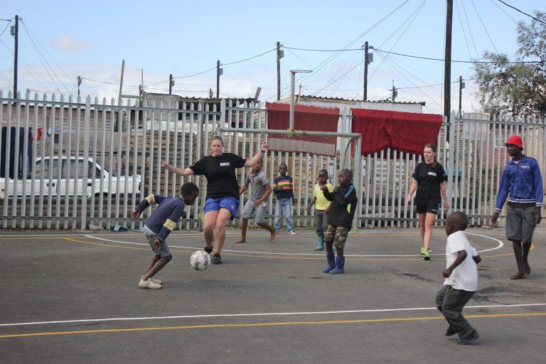 Teaching soccer 6