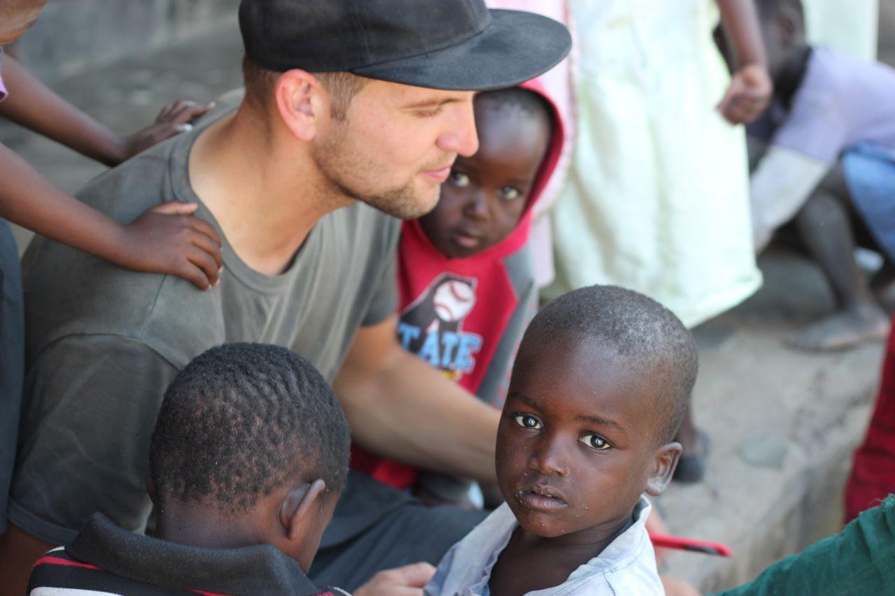 Volunteering with children 2